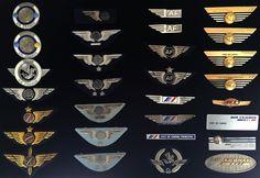 Insignes AIR FRANCE PNC PNT hotesse steward badges