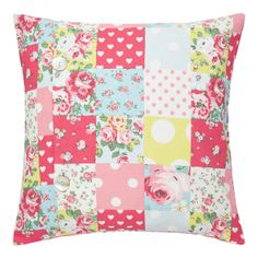 Kids Home | Patchwork Cushion Cover | CathKidston