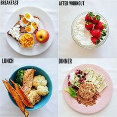 Follow us ( for more⠀ .⠀ By .⠀ Some of my if I workout guys ⠀ . ⠀ BREAKFAST: t...