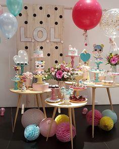 Festa LOL Surprise: 60 ideias e tutorias para você criar a sua