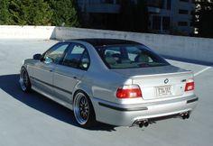 E39 M5 + BBS LM wheels. Perfect.
