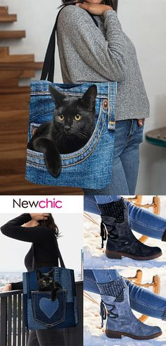 Diy Jeans, Jean Diy, Fashion Bags, Womens Fashion, Denim Bag, Mode Outfits, Purses And Bags, Messenger Bag, Clothes For Women