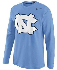 Nike NCAA Shirt, North Carolina Tar Heels Thermal Shirt - Mens T-Shirts - Macy's
