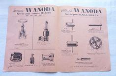 L'OUTILLAGE WANODA SPECIAL VOITURES  RENAULT - PEUGEOT-SIMCA   REF 02 | Collections, Objets publicitaires, Publicités papier | eBay!