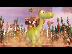 Mickey Mouse Rides A Dinosaur Camptown Races Nursery Rhymes Songs Disney...