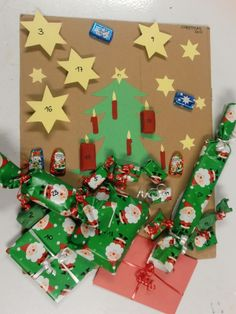 Advent calendar - Au Pair, Alex from Austria shares how she made an Adventkalender for her host child.