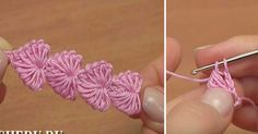 How to Crochet Little Heart Shapes: If you're looking for a delicate detail to…