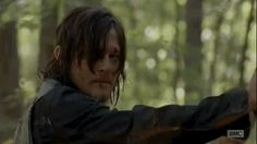 """When Daryl ran to hug Carol. 