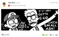Rick and Morty/ Pokemon
