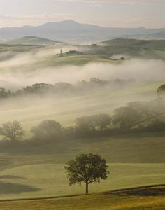 Val d'Orcia and Belvedere, Tuscany, Italy