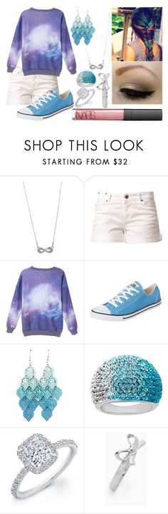 """""""Dip Dyed/ Dyed Hair 10 :)"""" by bowtiesfezzes ❤ liked on Polyvore featuring Style Tryst, Twist & Tango, Converse, Lord & Taylor, Kate Spade and NARS Cosmetics"""