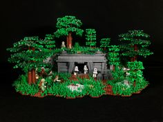 Endor Bunker by The Dunedain98 #LEGO #starwars