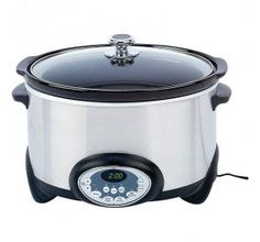 Precise Heat™ 6qt (5.7L) Stainless Steel Slow Cooker