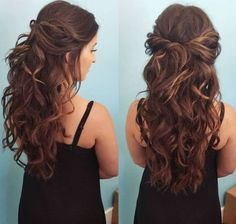 Prom Hairstyles Half Down Half Up