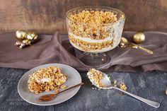 Apfel Karamell Trifle / Weihnachts-Schicht-Dessert / Buffet Rezept - Sallys Blog