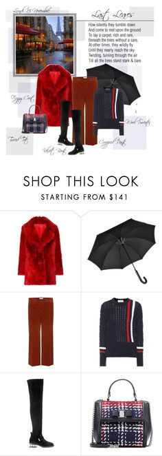 """Mon Style № 155 - 13 November, 2017"" by mon-style-diary ❤ liked on Polyvore featuring Prada, Paul Smith, Balenciaga, Thom Browne, Nicholas Kirkwood and Salvatore Ferragamo"