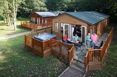A three/four night leisure home stay (£124) or a three night/four lodge break (£163). Offer ends midnight 08/02/2013