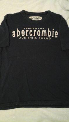 Boys Navy Abercrombie Tshirt Size L