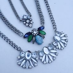 """Host pick 3  necklace at price of 1 Wear it one or wear all . Make a statement . All comes with 3"""" extender . NWOT. Jewelry Necklaces"""