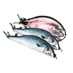 Mackerel Fish Zipper Pouch