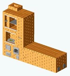 Колпаковая ОВП с лежанкой Floor Chair, Building A House, Decorative Boxes, Classic, Furniture, Stoves, Fences, Home Decor, Fireplaces