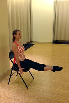 Thigh Exercises While Sitting - Thigh Workout. Slim Thighs, Outer Thighs, Chair Exercises, Thigh Exercises, Muscle Fitness, Fitness Tips, Exercise While Sitting, Office Exercise, Office Workouts