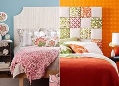 Kreative Ideen Für Kopfteil Selber Machen Und Coole Schlafzimmer  Inspiration Für Wandgestaltung Mit Diy Bett Rückwand
