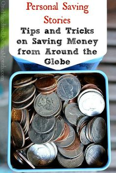 Tips and tricks on saving money from around the globe.