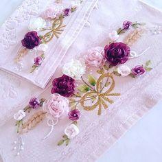 SEVİLAY ÇALIŞKAN @ribbon.design on Instagram photo September 19 Potli Bags, Organza Flowers, Ribbon Design, Barbie, September 19, Photo And Video, Instagram Posts, Beautiful, Satin Ribbons