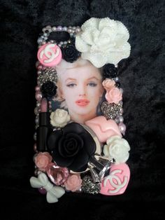 Marilyn Monroe Handmade Made to Order Cell Phone Case by 4havnfn,