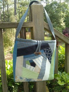 Elegant Gray Canvas Gray Denim Toffee Leather Tan Straps Tote Bag ... : quilted handbags made in usa - Adamdwight.com