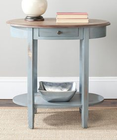 Look what I found on #zulily! Chandler Oval End Table #zulilyfinds