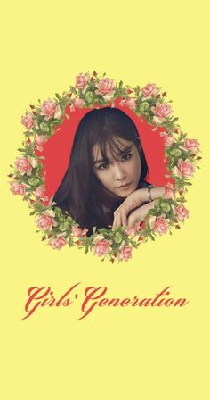 Girls' Generation SNSD Tiffany Lion Heart Lockscreen Phone Wallpaper