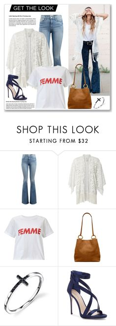 """""""what she wears-casual look 2"""" by chicatory ❤ liked on Polyvore featuring Frame, Anna Sui, Miss Selfridge, Tory Burch and Imagine by Vince Camuto"""