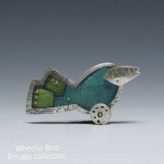 Deb Karash wheelie bird