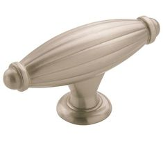 Allison Knob shown in Satin Nickel. Available in 3 finishes. Amerock