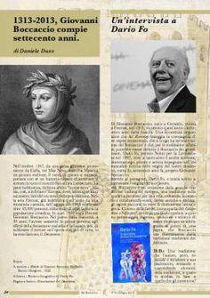 Speciale Boccaccio, Intervista a Dario Fo