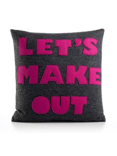 Alexandra Ferguson - Let's Make Out 16x16 Pillow