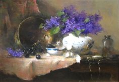 Patricia Rohrbacher. Lilacs and Pocket Watch. 2008.