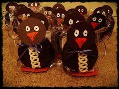 Penguin Cupcake Treats