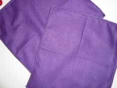Purple circle pocket square/ handkerchief by RuJuandMomo on Etsy, $8.00