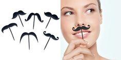 'Lip Service' Mustache Party Picks