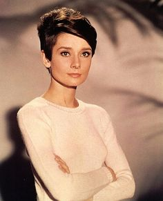 Audrey...Love her hair short