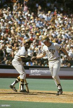 - Bob Robertson - Pirate Home Run Pittsburgh Pirates Baseball, Pittsburgh Sports, 1971 World Series, Pirate Pictures, Roberto Clemente, Penguins, Baseball Cards, Men Stuff, Velvet