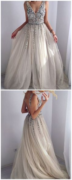 unique beaded grey long prom dresses backless a line graduation party gown. - unique beaded grey long prom dresses backless a line graduation party gowns for teens Source by - Grey Party Dresses, Winter Formal Dresses, Elegant Bridesmaid Dresses, Party Gowns, Dress Party, Dress Winter, Trendy Dresses, Pageant Dresses For Teens, 2 Piece Homecoming Dresses