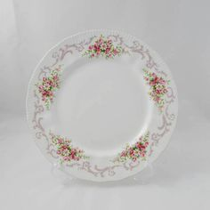 """Paragon """"Rose Bouquet"""" Dinner Plate, 10.75 Inches Vintage Paragon, Single Plate"""