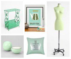 Dorm Design Inspired by Spring 2012 Pastels