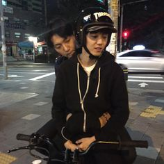 What a cute couple XD Jung Gwangmin and Lee Gwangmin