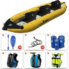 Kayak gonflable Aqua Design Sea Weaver 3