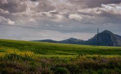 Miguel Angel SGR posted a photo:  Una tarde de tormenta sobre los campos de cereales en las Sierras de las zonas altas de la Región de MUrcia.  Caravaca de la Cruz - Murcia - España / Spain.